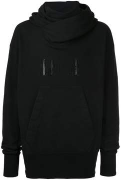 Julius embroidered pouch pocket hoodie