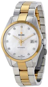 Rado Hyperchrome Jubile Mother of Pearl Dial Steel And Ceramos Watch
