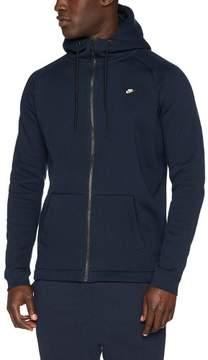 Nike Modern Zip Men's Sportswear Hooded Sweatshirt Blue Size XXL