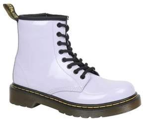 Dr. Martens Unisex Children's Delaney 8 Eye Side Zip Boot - Youth
