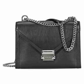 Michael Kors Whitney Large Shoulder Bag- Black - ONE COLOR - STYLE