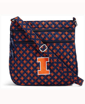 Vera Bradley Illinois Fighting Illini Triple Zip Hipster - NAVY - STYLE