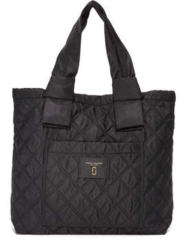 Marc Jacobs Nylon Knot Tote - BLACK - STYLE
