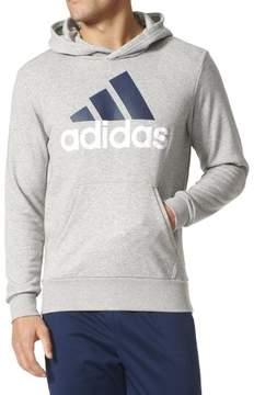 adidas Mens Kangaroo Pocket Logo Hoodie Sports Sweatshirt