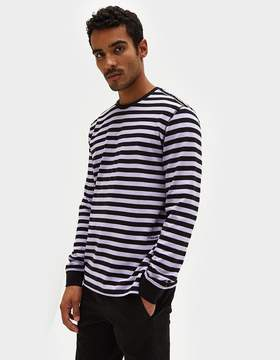 Co Pop Trading Non Logo Striped Longsleeve Tee