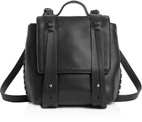 AllSaints Fin Mini Leather Backpack