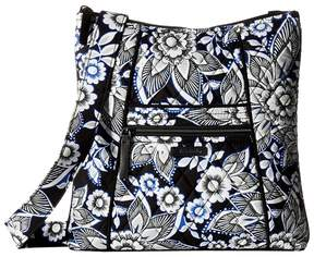 Vera Bradley Hipster Cross Body Handbags - SNOW LOTUS - STYLE