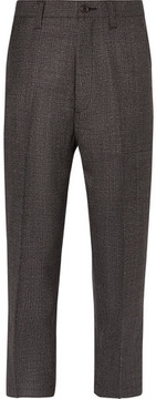 Junya Watanabe Cropped Checked Wool Trousers