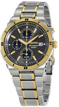 Seiko Brown Dial Men's Chronograph Watch