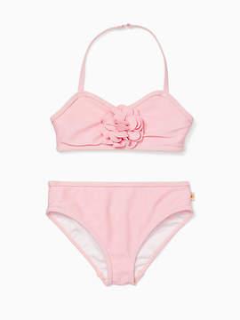 Kate Spade Girls rosette two-piece swimsuit