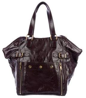 Saint Laurent Patent Leather Downtown Tote