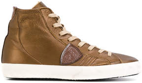 Philippe Model lace-up hi-top sneakers