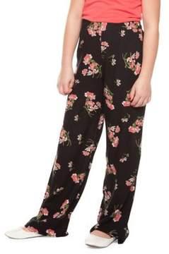 Dex Girl's Floral-Print Pants