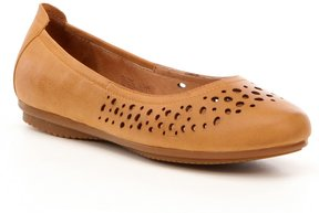 Josef Seibel Pippa 29 Leather Perforated Flats
