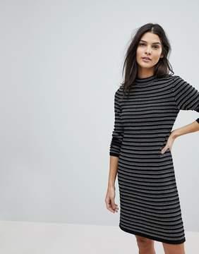 Esprit Stripe Knitted Dress