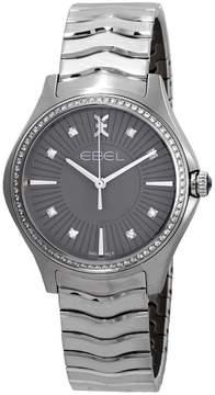 Ebel Wave Grande Diamond Grey Dial Ladies Watch