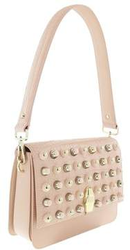 Roberto Cavalli Milano Bag Large Milano Rmx 00 Nude Shoulder Bag.