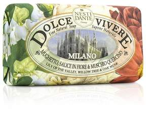 Nesti Dante Dolce Vivere Fine Natural Soap - Milano - Lily Of The Valley, Willow Tree & Oak Musk