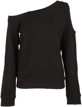 RtA Cut-out Sleeve Sweatshirt