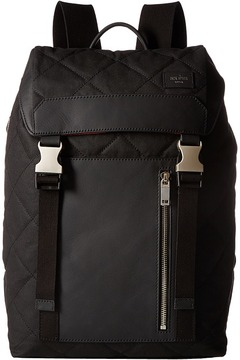 Jack Spade Quilted Waxwear Army Backpack