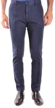 Altea Men's Blue Cotton Pants.