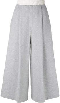 Ballantyne jersey cropped trousers