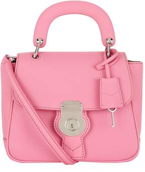 Burberry Small DK88 Top Handle Bag - PINK - STYLE