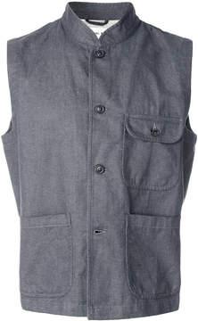 Universal Works button-down waistcoat