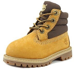Timberland Petits Round Toe Suede Boot.