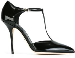 Dolce & Gabbana varnished T-bar pumps