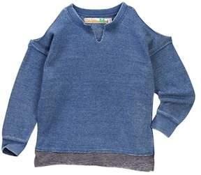 Vintage Havana Cold Shoulder Sweatshirt (Big Girls)