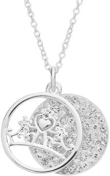 Disney Disney's Cinderella Crystal Fairy Tale Moments Await Layered Disc Pendant