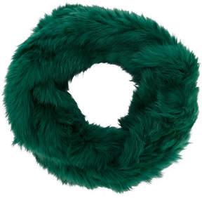 Yves Salomon round scarf