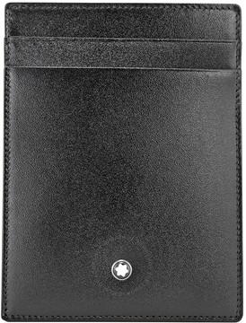Montblanc Meisterstuck Front Pocket Leather Wallet - Black