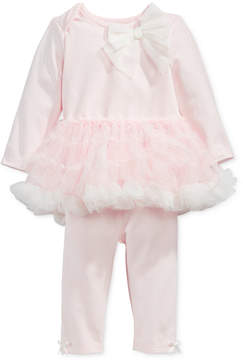 First Impressions 2-Pc. Tutu Top & Leggings Set, Baby Girls, Created for Macy's