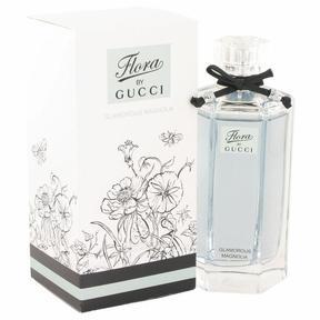 Flora Glamorous Magnolia by Gucci Eau De Toilette Spray for Women (3.3 oz)