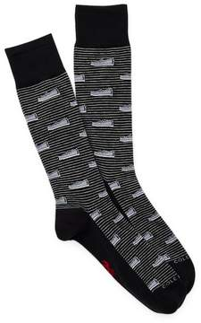 Cole Haan Novelty Print Socks