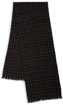 Black & Brown Black Brown Cashmere Scarf