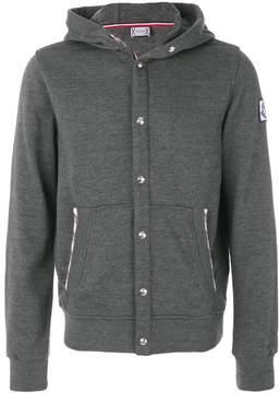 Moncler Gamme Bleu button up hoodie