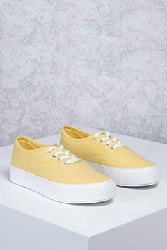 Forever 21 Low-Top Canvas Sneakers