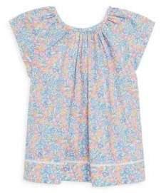Ralph Lauren Toddler's, Little Girl's& Girl's Floral Flutter-Sleeve Cotton Top