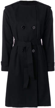 Emporio Armani hooded trench coat