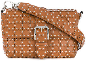 RED Valentino studded floral shoulder bag