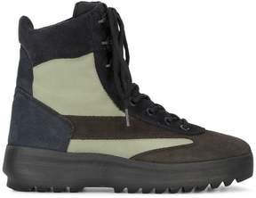 Yeezy brown suede military boots
