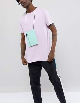 Asos Slim Flight Bag In Mint