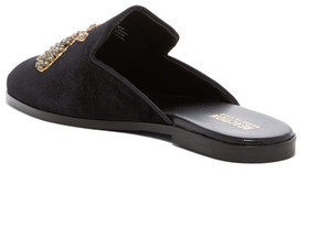 Kenneth Cole Reaction Glide Off Velvet Mule Flat