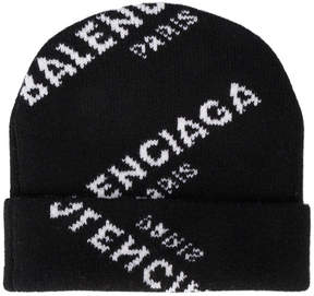 Balenciaga All Over beanie hat