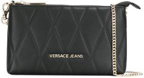 Versace quilted chain wallet