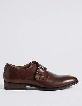Marks and Spencer Leather Single Strap Monk Shoe