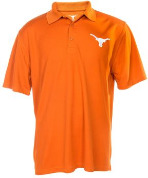 NCAA Men's Texas Longhorns Silhoutte Polo